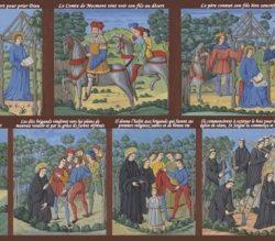 Affiche expo fresques abbatiale